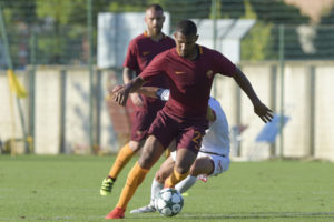 William Vainqueur of AS Roma in action during an AS Roma Trainig Session at Centro Sportivo Fulvio Bernardini on August 11, 2016 in Rome, Italy. at Centro Sportivo Fulvio Bernardini on August 11, 2016 in Rome, Italy.