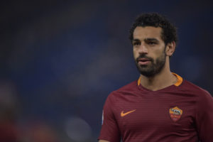 ROME, ITALY - NOVEMBER 27: Mohamed Salah of AS Roma  during the Serie A match between AS Roma and Pescara Calcio at Stadio Olimpico on November 27, 2016 in Rome, Italy.  (Photo by Luciano Rossi/AS Roma via Getty Images)